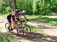 Борьба на трассе участников 6 и 302