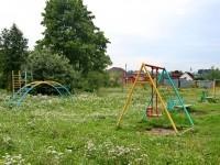 Старая детская площадка - июль 2013