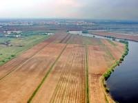 Москва-река, поле агрофирмы Подмосковное, вдали Жуковский