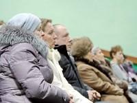 Бюджетники  Чулковского поселения внимательно слушают выступающих