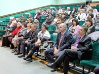 Депутаты сп Чулковское и руководители бюджетных организаций в первых рядах