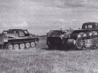 Совместные испытания вездеходов ГАЗ-47 и ПКЦ-1