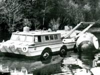 Испытания ПЭУ-2 Грачева с краном на воде