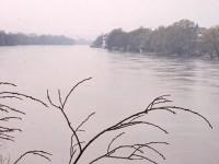 Половодье на река Москва - апрель 2013