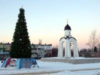 Новогодняя елка в пос. Тельмана