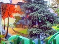 Детский сад N23 в поселке Тельмана - раскраска фасадов