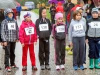 Самые юные спортсмены на старте