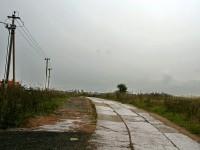 Дорога от Володарского шоссе к ТСЖ в Редькино