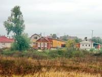 Старая часть деревни Редькино