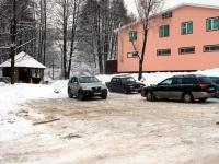 Новая парковка у нового родника в Михайловской Слободе
