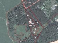 Размещение участков, выставленных на торги в деревне Редькино на кадастровой карте (50:23:0040439, ул. Березовая).