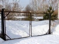 Индивидуальные береговые ворота в СНТ Лотос