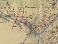 Огневые позиции советских войск у деревни Титово в 1941 - 1942