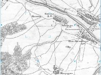 Титово, Ченцово, карта Военно-Топографическое Депо. 1878 год