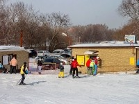 Кассы, прокат, кафе горнолыжного центра Боровской Курган