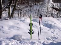 Просто лыжи на Боровском кургане