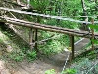 Мост через овраг - элемент трассы Утопия