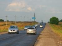 Свежий асфальт на Володарском шоссе - август 2014