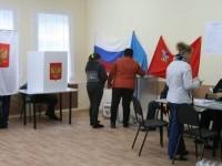 На участке в Нижнем Мячково идет голосование