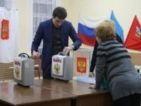 Вскрытие переносных ящиков для голосования