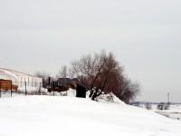 Стройка на берегу Москва-реки