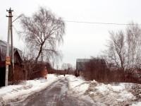 Одна из улиц Заозерья