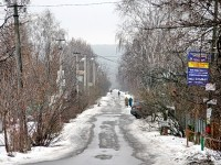 Улица в Заозерье