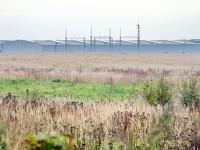 Вид от карьера РГОК на завод Пилкингтон