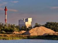 Вид на завод Пилкингтон с карьера