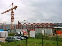 Строительство нового цеха завода Пилкингтон - август 2013