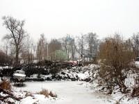 Заброшенный пруд в Зеленой Слободе