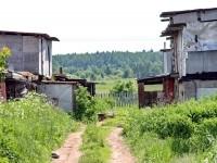 Сельские трущобы на месте будещего ЖК Константиново - июнь 2013