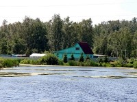 Дом на пруду в деревне Жуково
